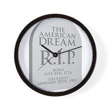 American Dream is Dead Wall Clock