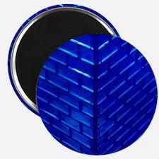 Blue Glass Magnet
