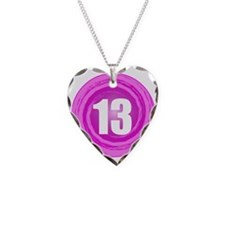 Teenager Girl Necklace Heart Charm