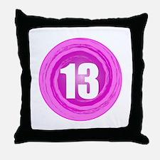 Teenager Girl Throw Pillow