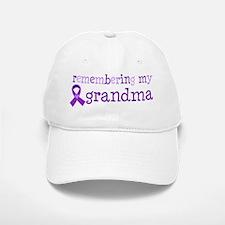 Alzheimers Remember Grandma Baseball Baseball Cap