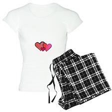 Happy Hearts Maternity Design Pajamas