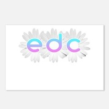 Unique Electric daisy carnival Postcards (Package of 8)