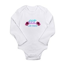 Cute Electric Long Sleeve Infant Bodysuit