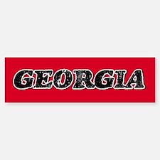 Georgia Vintage Bumper Bumper Bumper Sticker