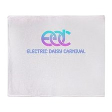 Cool Electric daisy carnival Throw Blanket