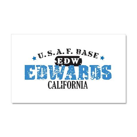 Edwards Air Force Base Car Magnet 20 x 12