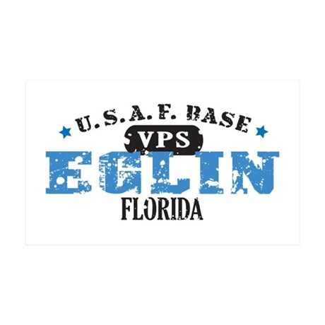 Eglin Air Force Base 38.5 x 24.5 Wall Peel