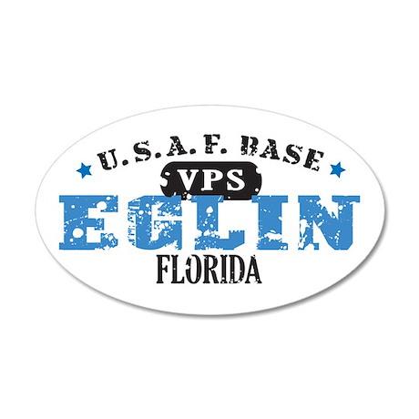 Eglin Air Force Base 22x14 Oval Wall Peel