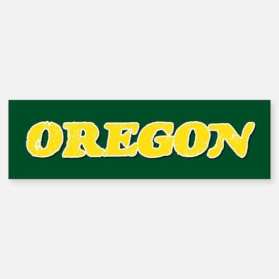 Oregon Vintage Bumper Bumper Bumper Sticker