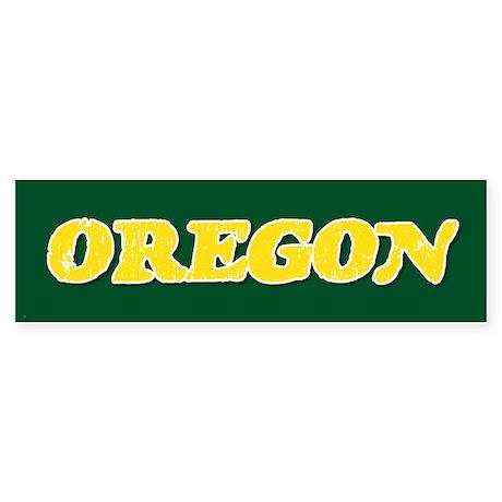 Oregon Vintage Bumper Sticker