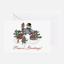 Season's Greatings Greeting Card
