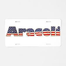 American Araceli Aluminum License Plate