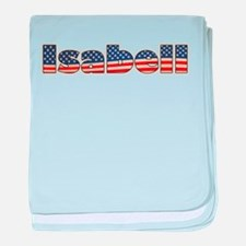 American Isabell baby blanket