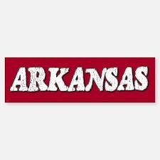 Arkansas Vintage Bumper Bumper Bumper Sticker