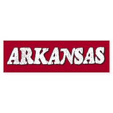 Arkansas Vintage Bumper Bumper Sticker