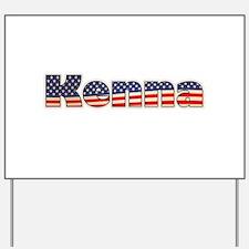 American Kenna Yard Sign