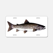 Trout Fish Aluminum License Plate