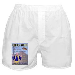 UFO Phil Shirts Boxer Shorts