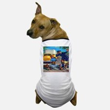 Traffic Accident Dog T-Shirt