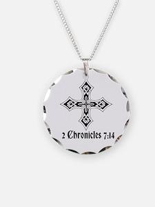 2 Chr 7:14 Kreuz - Necklace