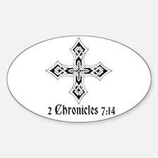 2 Chr 7:14 Kreuz - Decal
