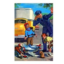 Traffic Accident Postcards (Package of 8)