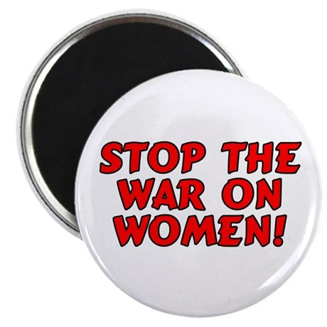 """Stop the war on women! 2.25"""" Magnet (10 pack)"""