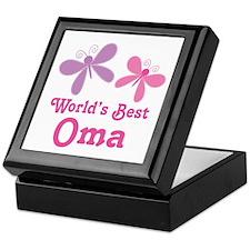 Best Oma Dragonfly Keepsake Box