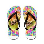 Party Time Chicks Flip Flops