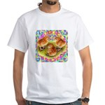 Party Time Chicks White T-Shirt
