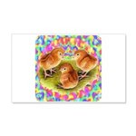Party Time Chicks 22x14 Wall Peel