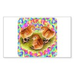 Party Time Chicks Sticker (Rectangle 50 pk)