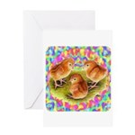Party Time Chicks Greeting Card