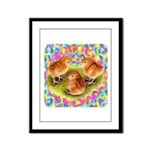Party Time Chicks Framed Panel Print