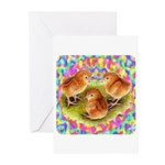 Party Time Chicks Greeting Cards (Pk of 10)