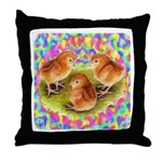 Party Time Chicks Throw Pillow