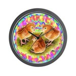 Party Time Chicks Wall Clock