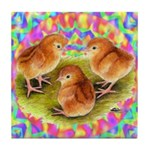 Party Time Chicks Tile Coaster