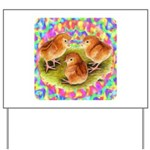 Party Time Chicks Yard Sign