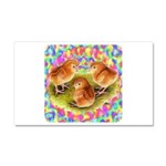 Party Time Chicks Car Magnet 20 x 12