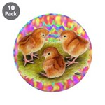 """Party Time Chicks 3.5"""" Button (10 pack)"""