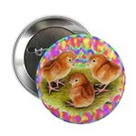 """Party Time Chicks 2.25"""" Button (10 pack)"""