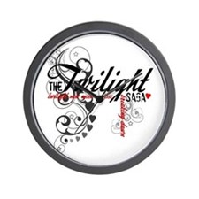 Twilight Saga Wall Clock