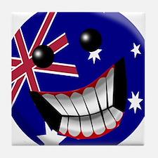 Australian Smile Tile Coaster