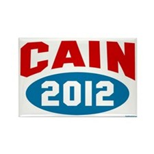 Cain 2012 Rectangle Magnet