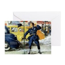 Traffic Cop Greeting Cards (Pk of 10)