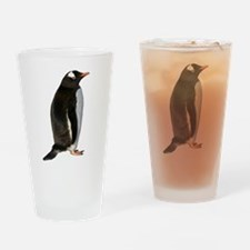 Gentoo Penguin Drinking Glass