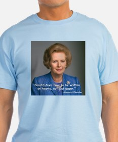 Thatcher Hearts Quote T-Shirt