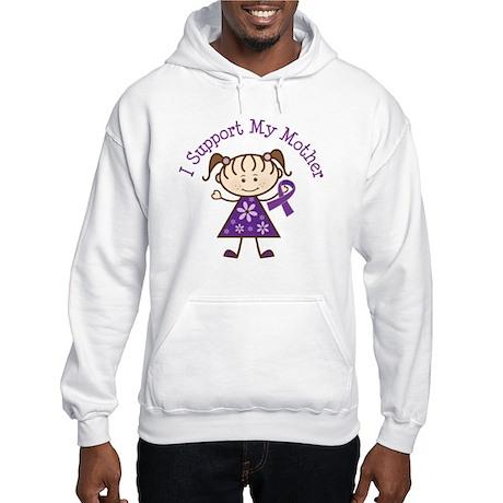 Alzheimers Support Mother Hooded Sweatshirt